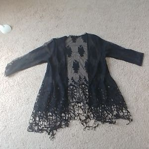 Bke boutique medium kimono cardigan cover up